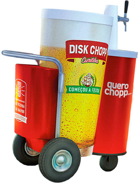 Carrinho de Chopp Disk Chopp Curitiba